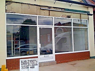 Quality New Aluminium Shop Front Doors £680 Direct From The Manufacturer