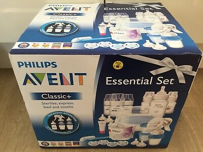 The Philips Avent Classic + Plus Essentials Set - NEW