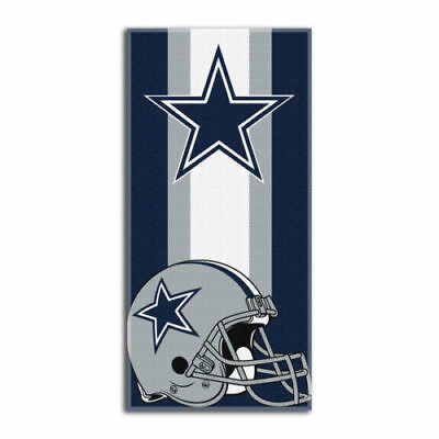"New Football Team Dallas Cowboys Beach Towel Bath 30'' x 60"" Licensed"
