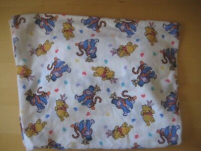 Disney  WINNIE THE POOH Best Friends CRIB Toddler Bed FITTED SHEET