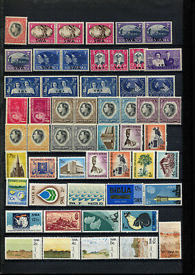 Southwest Africa  / South Africa 1937 - 1973 *** 54 Mnh / Mint Stamps