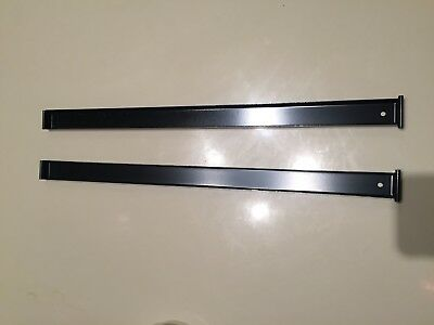 """Front-to-back Rail Kit - Lateral File - 2 pieces MERIDIAN/HERMAN MILLER 18"""" long"""