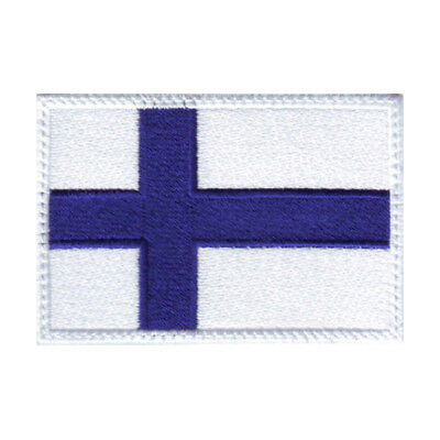 Finland Flag Embroidered Patch