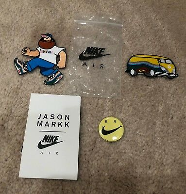 Sean Wotherspoon HAVE A NIKE DAY Air Max Day Patches + Button Pin Jason Markk