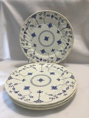 "MYOTT FINLANDIA Staffordshire England 10"" Dinner Plate Set of 5- EUC!"