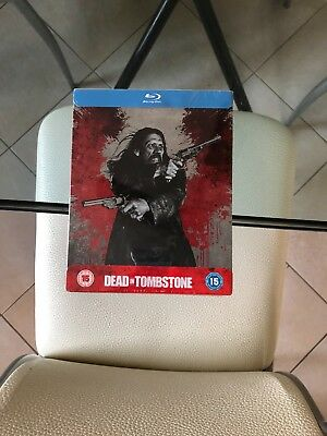 Dead in Tombstone Steelbook UK Limited Edition Blu-ray Region Free