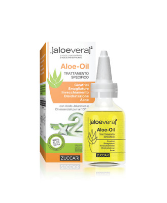 Zuccari Aloevera2 Aloe Oil 50ml
