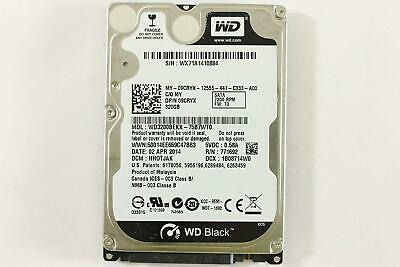 "Western Digital Black 320Gb 2.5"" Laptop Hard Drive 7200 RPM WD3200BEKX-75B7WT0"