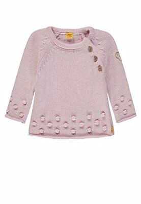 Steiff Baby-Mädchen Pullover (86 Rosa (Barely Pink rose 2560))