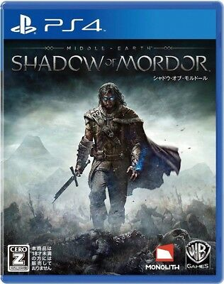 USED ​​PS4 ​​Shadow Of Mordor