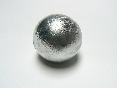 Zinc Anodes 1 Pound 99.9% Pure Zinc Anode Round Ball For Metals & Alloys Metal