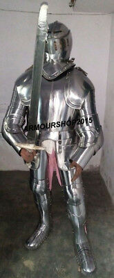 Medieval Authentic Suit of Armor Full German Body Costume