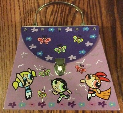 Powerpuff Girls 2001 Metal Purse Bubbles Blossom Buttercup