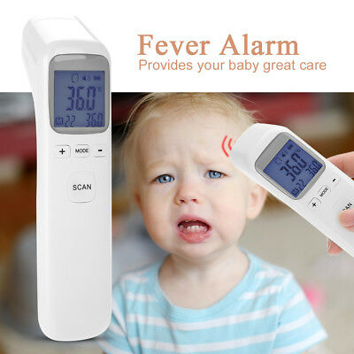 Non-Contact Infrared Digital Thermometer Forehead Body Temperature Baby Adult