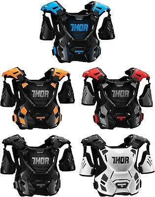 Thor Guardian Chest Protector - Motocross MX ATV Offroad Dirtbike Roost Guard