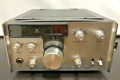 Original Kenwood SSB T-599 3.5 - 29.7 MHz Ham Radio Transmitter Trio Japan Power