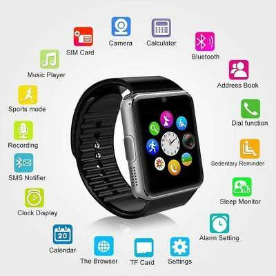 2018 GT08 Bluetooth Smart Watch For Android iOS iPhone Apple GSM GPRS SIM