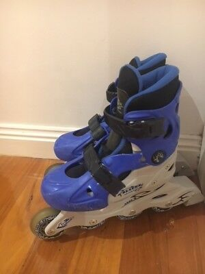 PRICE DROPPED Slider adjustable roller blades - inline skates sz 1-4