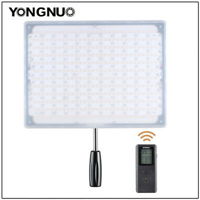 YONGNUO YN600RGB 3200K-5500K LED Video Light Adjustable Color Temperature