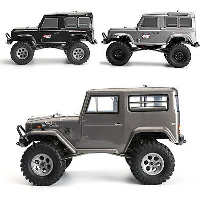 RGT Rc Car 1/10 Scale RTR Electric 4wd Off Road Crawler Cruiser Climbing Rock