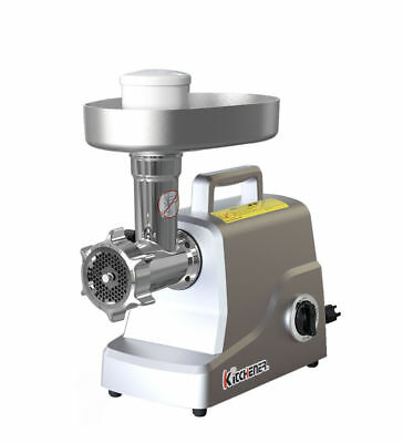 KITCHENER Heavy Duty Stainless Steel Electric Meat Grinder/Stuffer, 330-lbs/Hr