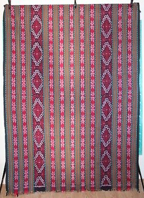Balinese Traditional Tapestry Blanket Multi - Coloured 240 Cm