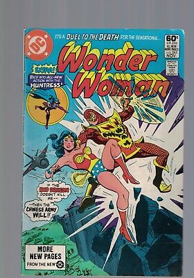 DC Comic  WONDER WOMAN  # 285 Nov 1981 60c USA