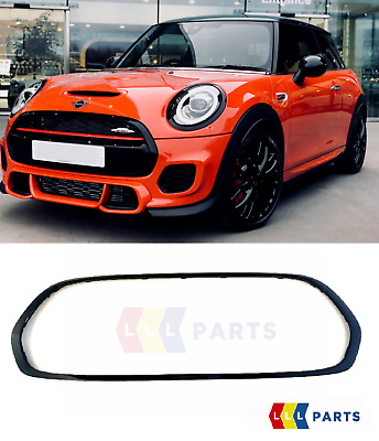 Mini New Genuine F55 F56 F57 Jcw Front Grill Trim Surround Piano Gloss Black