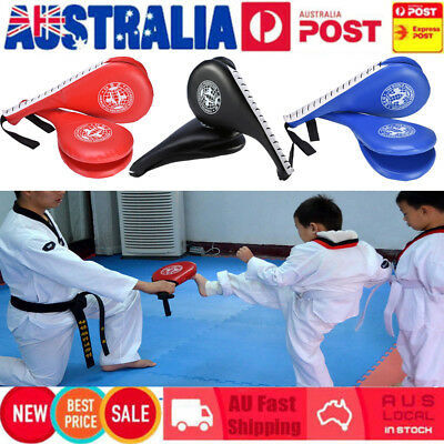 Taekwondo Double Kick Pads Target Karate Kickboxing Focus Muay Thai MMA Training