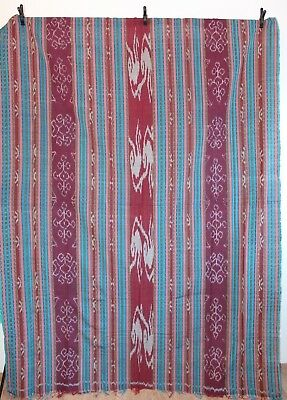 Indonesia Kain/fabric Ikat Tapestry/blanket Multi-Colored 240 Cm