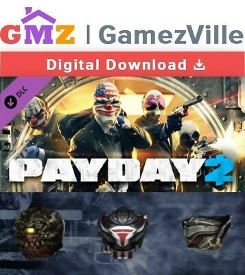 PAYDAY 2 - E3 2016 Mask Pack DLC Steam Key PC Digital Download