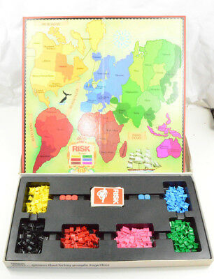 Parkers Risk The World Conquest Board Game For 2 to 6 Players Age 10 to Adult