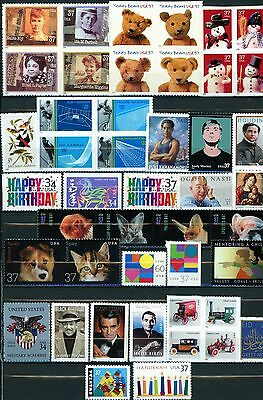 2002 Commemorative Year Set 45 Different MNH Includes ALL Shown LOWEST PRICE!