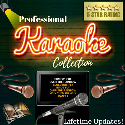 Professional Karaoke Collection Hard Drive Licensed - Free Monthly Updates!