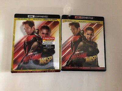 Ant-Man And The Wasp ( 4K UHD + ARTWORK+ SLIP COVER)