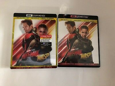 Ant-Man And The Wasp 4K Ultra HD 1 Disc Set ( No Digital ) Ship Now