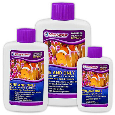DrTim One & Only Life Nitrifing Bacteria Boosting for Marine Fish Reef Aquariums