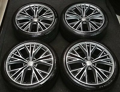 4 Factory Audi A7 S7 20 Oem Wheels Tires Rims 1 800 00 Picclick