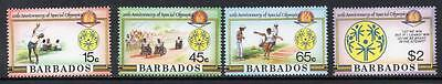 Barbados MNH 1987 The 10th Anniversary of Special Olympics