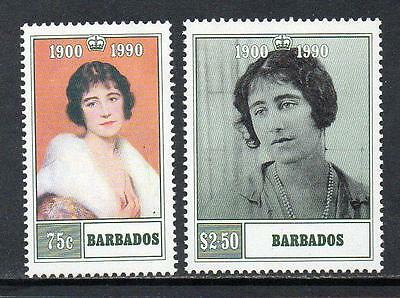 Barbados MNH 1990 The 90th Anniversary of the Birth of Queen Elizabeth