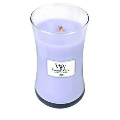 WoodWick Lilac 22oz Large Jar Candle FREE P&P
