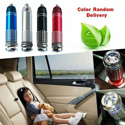 Auto Car Fresh Air Ionic Purifier Oxygen Bar Ozone Ionizer Cleaner Universal New