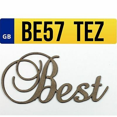 BE57 TEZ Private Car Registration Plate Number Cherished BEST