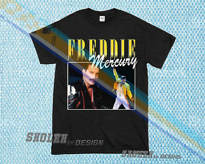 0f683d7d Limited Edition Inspired By Freddie Mercury Tour Merch Hip Hop Rare T-SHIRT