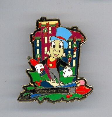 WDW Disney Artist Choice Christmas in the City Jiminy Cricket Pinocchio LE Pin