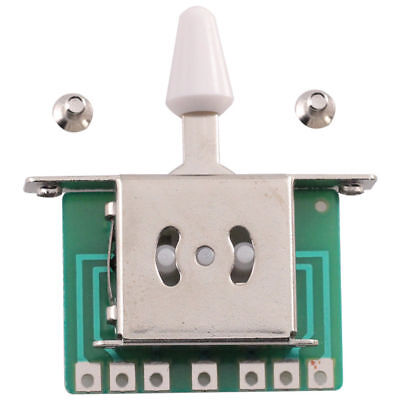 Guitar 5 Way Selector Toggle Switch Pickup Lever For Strat - ships from Canada