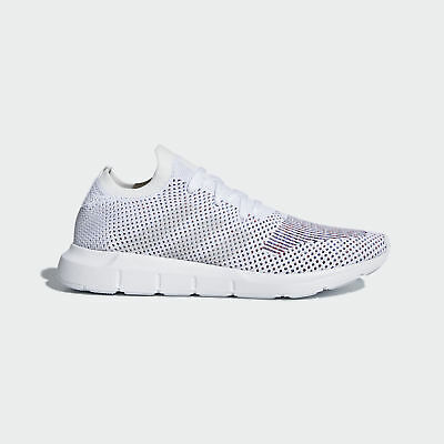 56c9f6759 Men s Adidas Swift Run PK Primeknit Running White   Grey Heather Sz 9.5  CQ2895