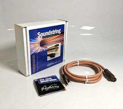 Soundstring SS-PC-MO-6-US 6ft Medium Output Power Supply Cord *UNUSED*