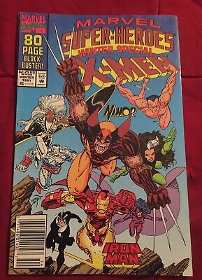 Marvel Super-Heroes Vol. 2 # 8 Winter Special 1991 - 1st Squirrel Girl Newsstand