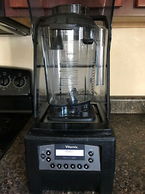 Vitamix The Quiet One ON-Counter 36019 VM0145 Commercial W/NEW plastic container